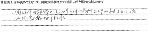 20150127債務整理②I様